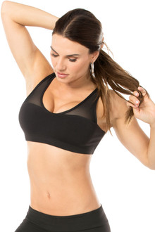 Dance Bra With Mesh