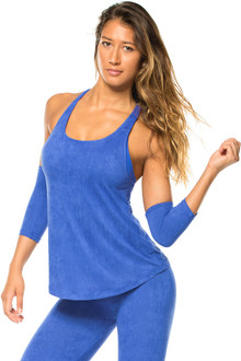 Stretch Suede Tank