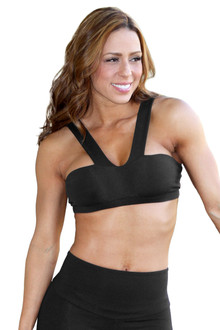 Volare Bra - FINAL SALE - BLACK - SMALL (1 AVAILABLE)