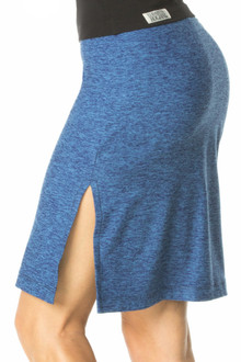 Butter Office Double Slit Skirt - Custom
