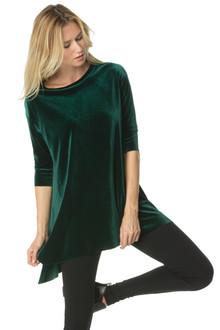 Stretch Velvet T-Shirt