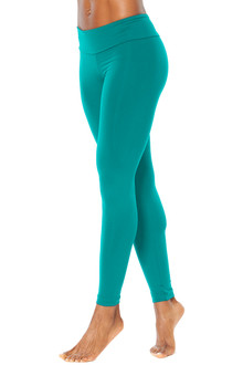 Sport Band Leggings - Teal