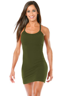 Transformable Metro Top/Dress - FINAL SALE - ARMY - MEDIUM