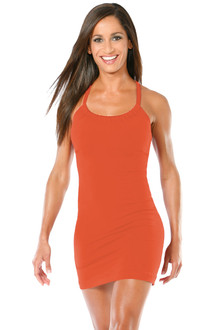 Transformable Metro Top/Dress - FINAL SALE - TANGERINE - SMALL - CUSTOMIZED