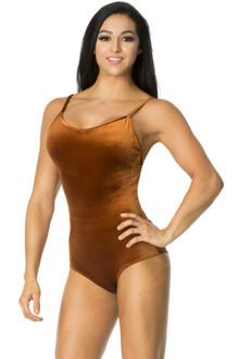 Classic Stretch Velvet Bodysuit