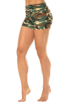 Camouflage Rolldown Shorts