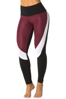 Wet Chromatic High Waist Long Leggings