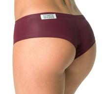 Wet Merlot Curve Shorts - Ready