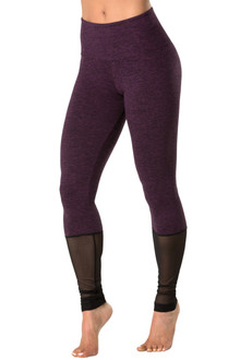 Lush High Waist Double Weight Butter Leggings w/ Mesh