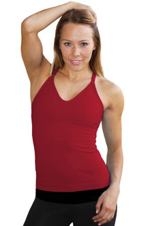 Dark Red Racer Doll Top - READY