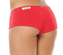 "Mini Mini Shorts - FINAL SALE - VEGAS RED - SMALL - 1.75"" INSEAM (1 AVAILABLE)"