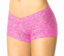 "Butter Fuchsia Buti Lowrise Mini Shorts - FINAL SALE - SMALL- 2.5"" INSEAM (1 AVAILABLE)"