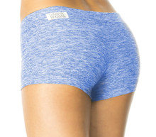 "Butter Blue Buti Lowrise Mini Shorts - FINAL SALE - SMALL- 2.5"" INSEAM (1 AVAILABLE)"
