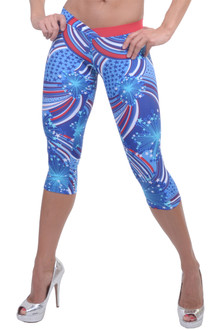 JNL - Patriot BUMBLEBEE 3/4 Leggings