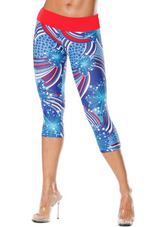 Patriot Sport Band 3/4 Leggings