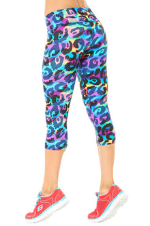 Alicia Marie - Rebel Sport Band 3/4 Leggings