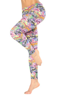 Graffiti Sport Band Leggings