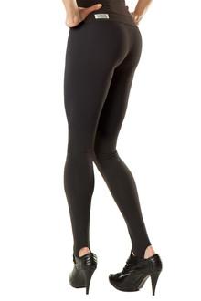 Stirrup Leggings - BLACK ON BLACK - SALE - XSMALL (1 AVAILABLE)