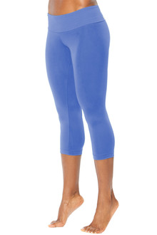 Sport Band 3/4 Leggings - MALIBU - FINAL SALE - XS, S, M & L