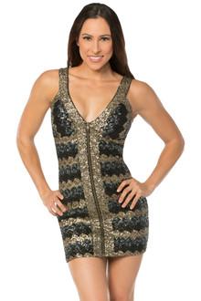 Stella Zipper Dress