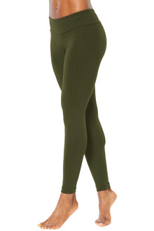 Sport Band Leggings - ARMY - FINAL SALE - XS & L