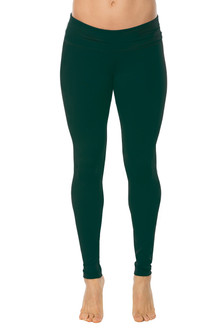 Cotton Rolldown Leggings - ALPINE ON ALPINE - FINAL SALE - XS, S, M, & L