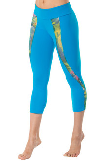 Color-foria Mesh Insert 3/4 Leggings