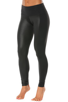 Wet Black Sabé High Waist Leggings