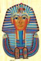 Mask of Tutankhamun Papyrus