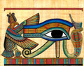 Eye of Horus Papyrus - Egyptian Art