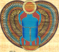 Egyptian Papyrus God Khepri