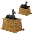 Egyptian Anubis Dog Box