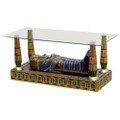 Egyptian King Tut Coffee Table