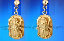 Egyptian Gold Earrings
