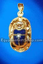 18k Gold Egyptian Pendants