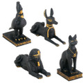 Egyptian Mini Statue Collection (set Of 4)