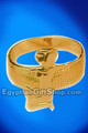 18K Gold Winged Isis Ring