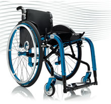 Progeo Tekna. With its new rear cross brace system and its unbeatable possibilities of adaption the Tekna folding frame wheelchair easily adapts to postural needs of the user.
