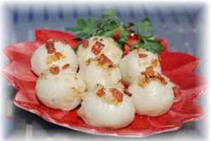 Pyzy  Potato Dumplings with Filling