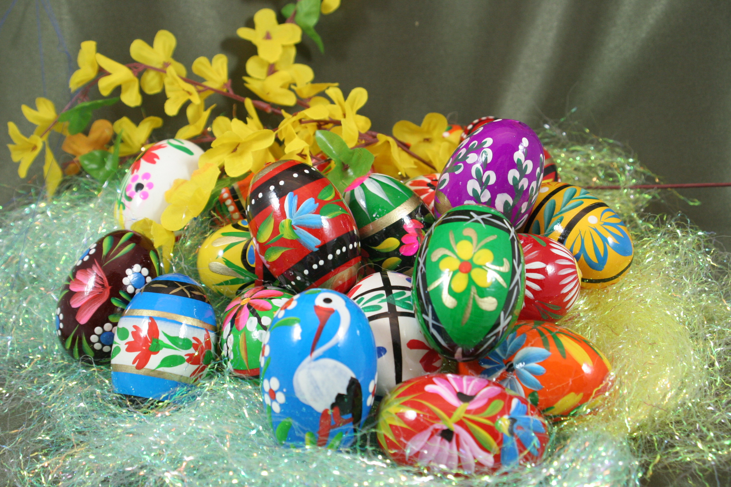 Wooden Easter Eggs from Poland