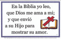 La BIblia dice que Dios Ama (Bible Says God Loves)
