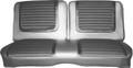 1965 Belvedere II Front Split Bench Cloth Tan/Gold