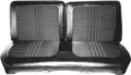 1969 Satellite and Satellite 4-Door Headrest Covers Cloth