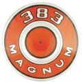 Air Cleaner Pie Tin 69-71 Orange 383  Magnum