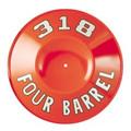 Air Cleaner Pie Tin Orange 318 Four Barrel