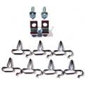 Fuel Line Clip Kit 68-70 B Body 1/4-3/8