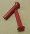 Door Lock Knobs 62-74 A & B Body Red