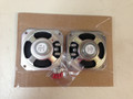 "3 1/2"" Small Square Speakers  68-70 B Body 67-68 C Body - Cars W/3 Speaker Front Dash Sold as Pair"