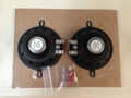 "3 1/2"" Small Round Speakers 70-74 E Body - Cars W/3 Speaker Front Dash Sold as Pair"