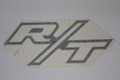 "R/T logo is in ""White ""Lettering"""